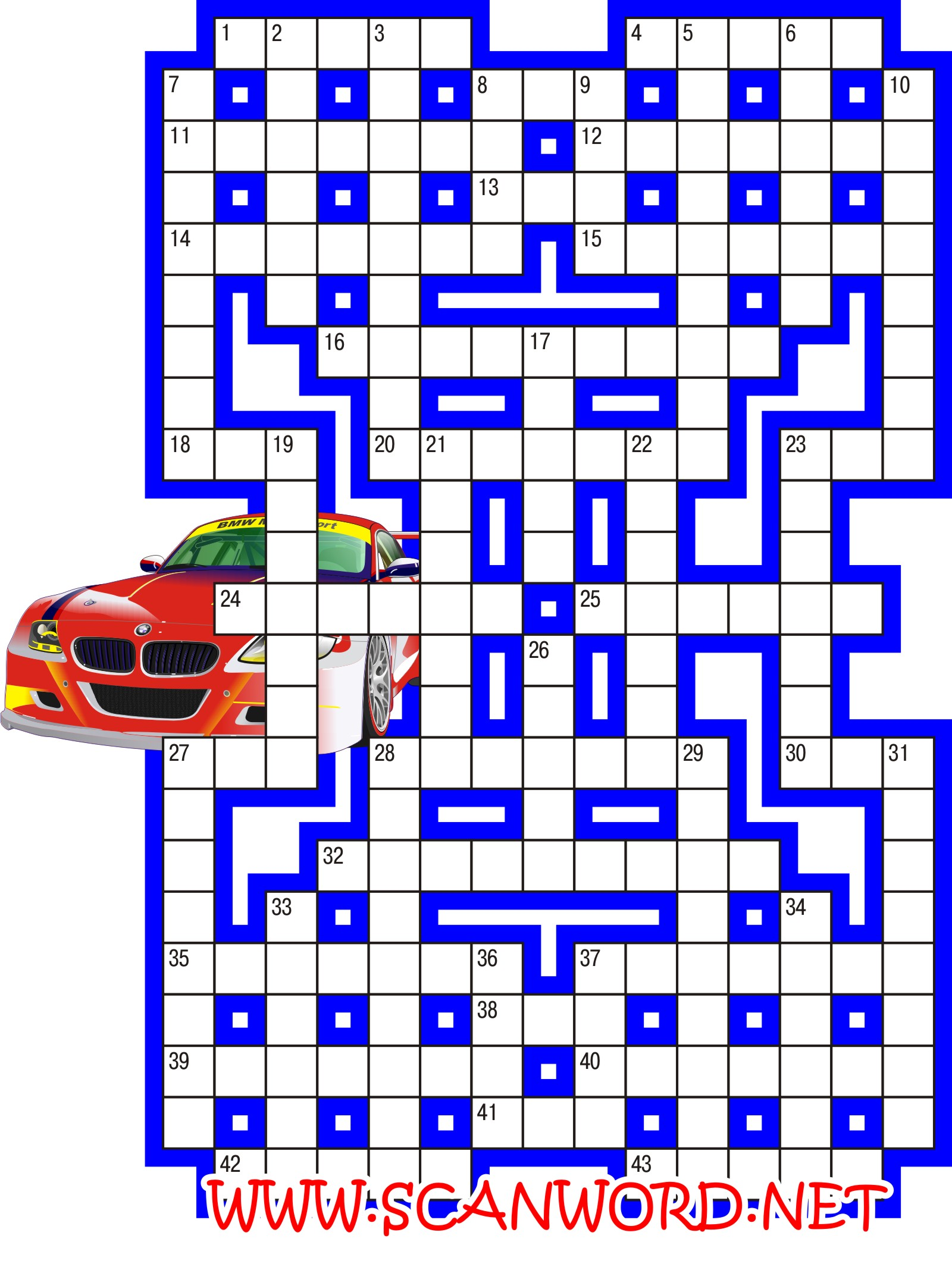 кроссворды ответы автомобили